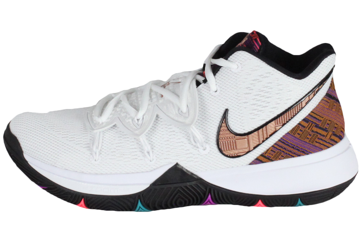 promo code 11377 ff546 Nike NIKE basketball shoes NIKE KYRIE V BHM EP Nike chi Lee 5 BHM EP (white  / metallic red bronze) 2019/2/1
