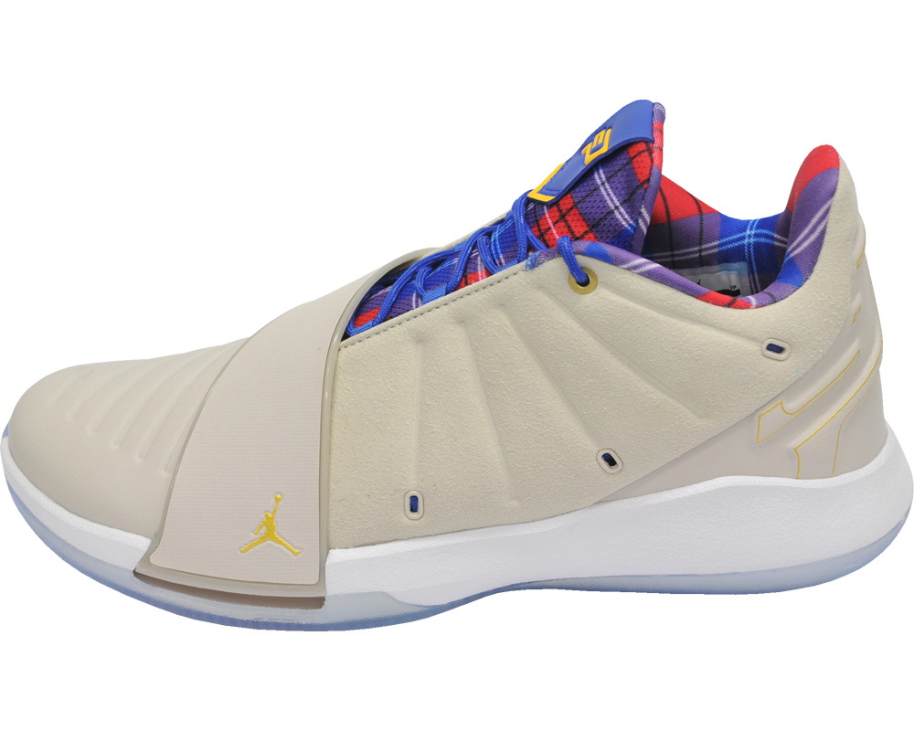 70db5d66bc4a11 Nike Jordan sea peace Lee 11 NIKE JORDAN CP3 XI (dessert sand   metallic  gold) basketball shoes basketball 2018 9 1