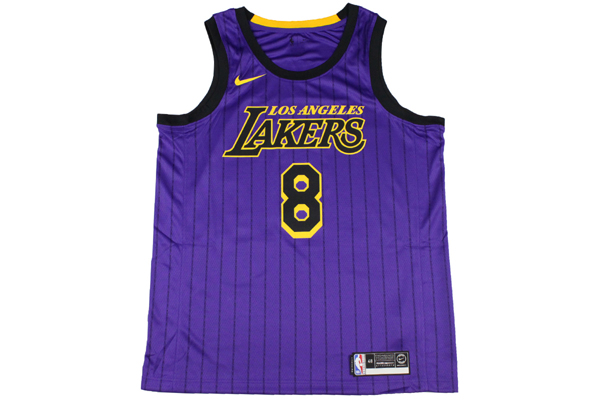 size 40 68af4 07516 Nike NBA NIKE basketball uniform Los Angeles Lakers Kobe Bryant #8  permanently retired uniform number swing man jersey