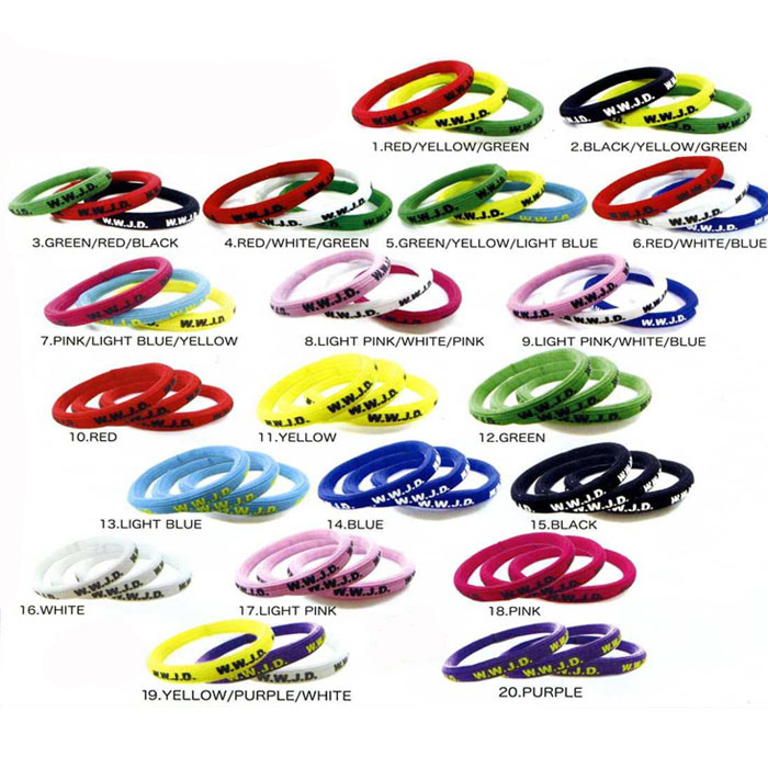 W J D Elastic Hair Rubber Bracelet 3 Regular Company Of Fire Fighters