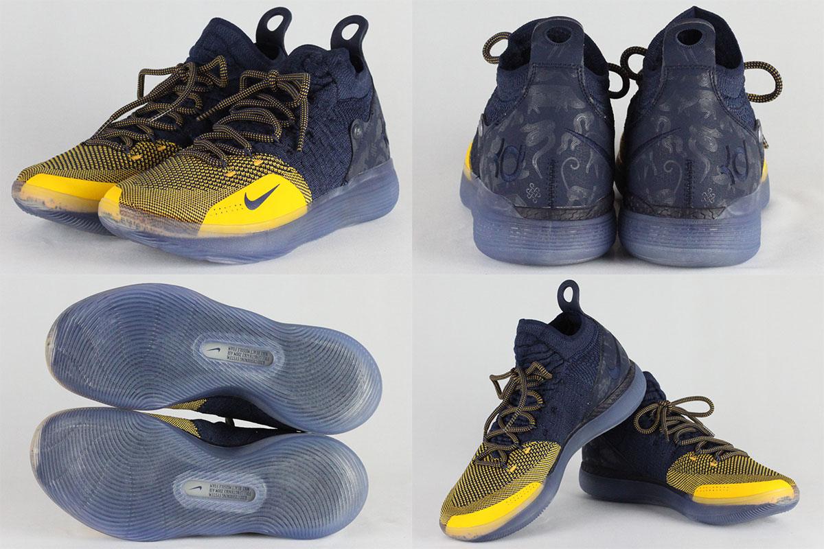 d55c17a00f23a Nike zoom KD 11 EP NIKE ZOOM KD11 EP (college navy   university gold)  18