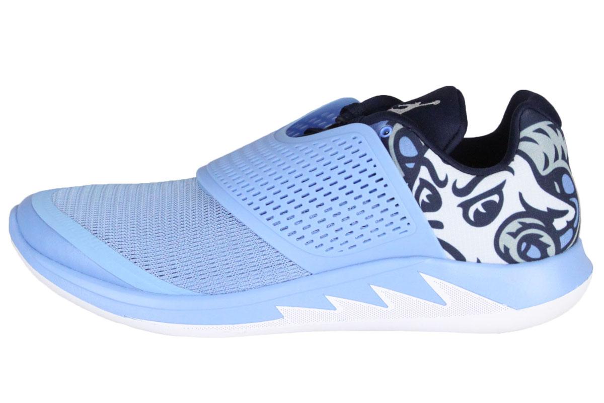89ce927832ac 2 NIKE JORDAN GRIND 2 UNC Nike Jordan North Carolina University training  shoes (UALOR BLUE WHITE-COLLEGE NAVY) to grind