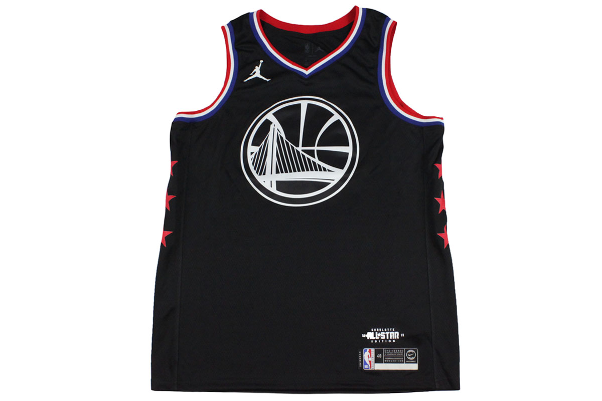 292e86a5e4b7 Nike Jordan NIKE JORDAN NBA all-stars 2019 Golden State Warriors Kevin  Durant  35 swing man jersey 12