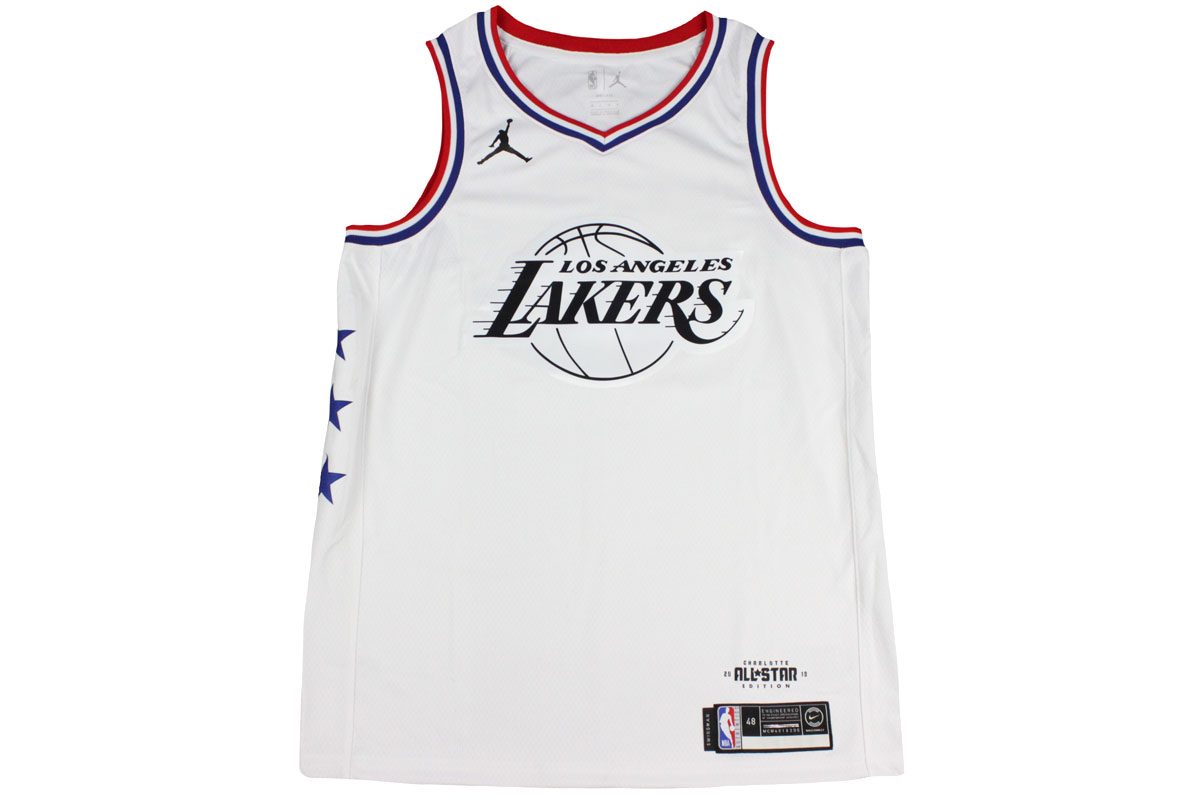 best service 7365e 01a9c Nike Jordan NIKE JORDAN NBA basketball uniform all-stars 2019 Los Angeles  Lakers Revlon James #23 swing man jersey