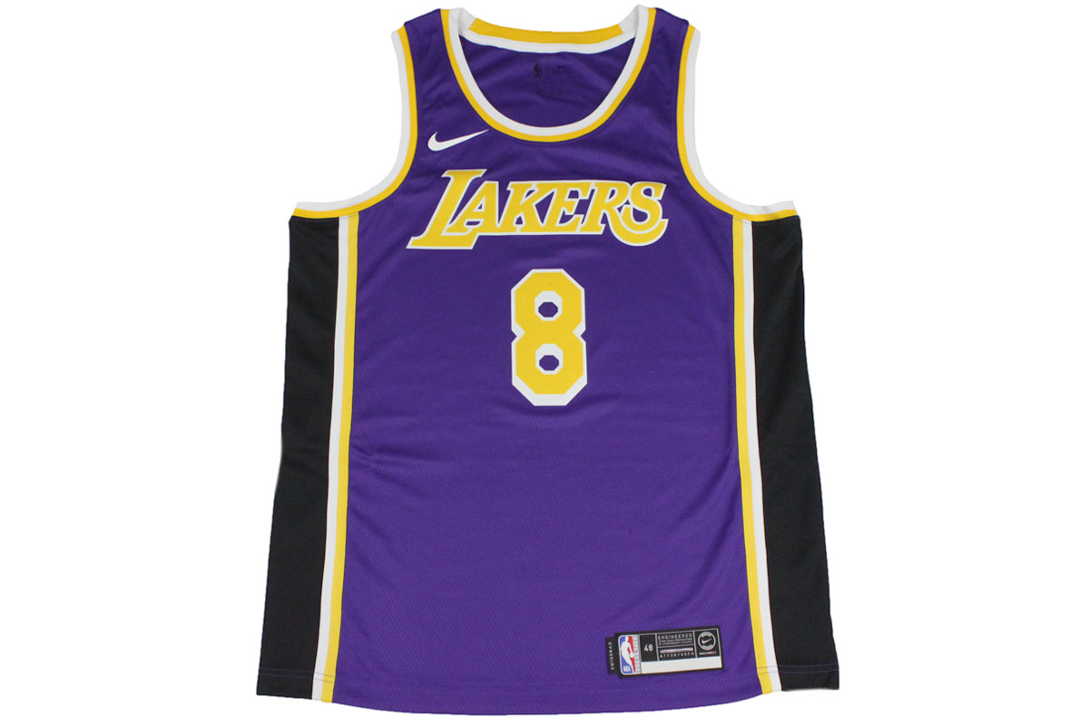 new styles c8500 15a0d Nike NIKE NBA basketball uniform Los Angeles Lakers Kobe Bryant #8  permanently retired uniform number swing man jersey
