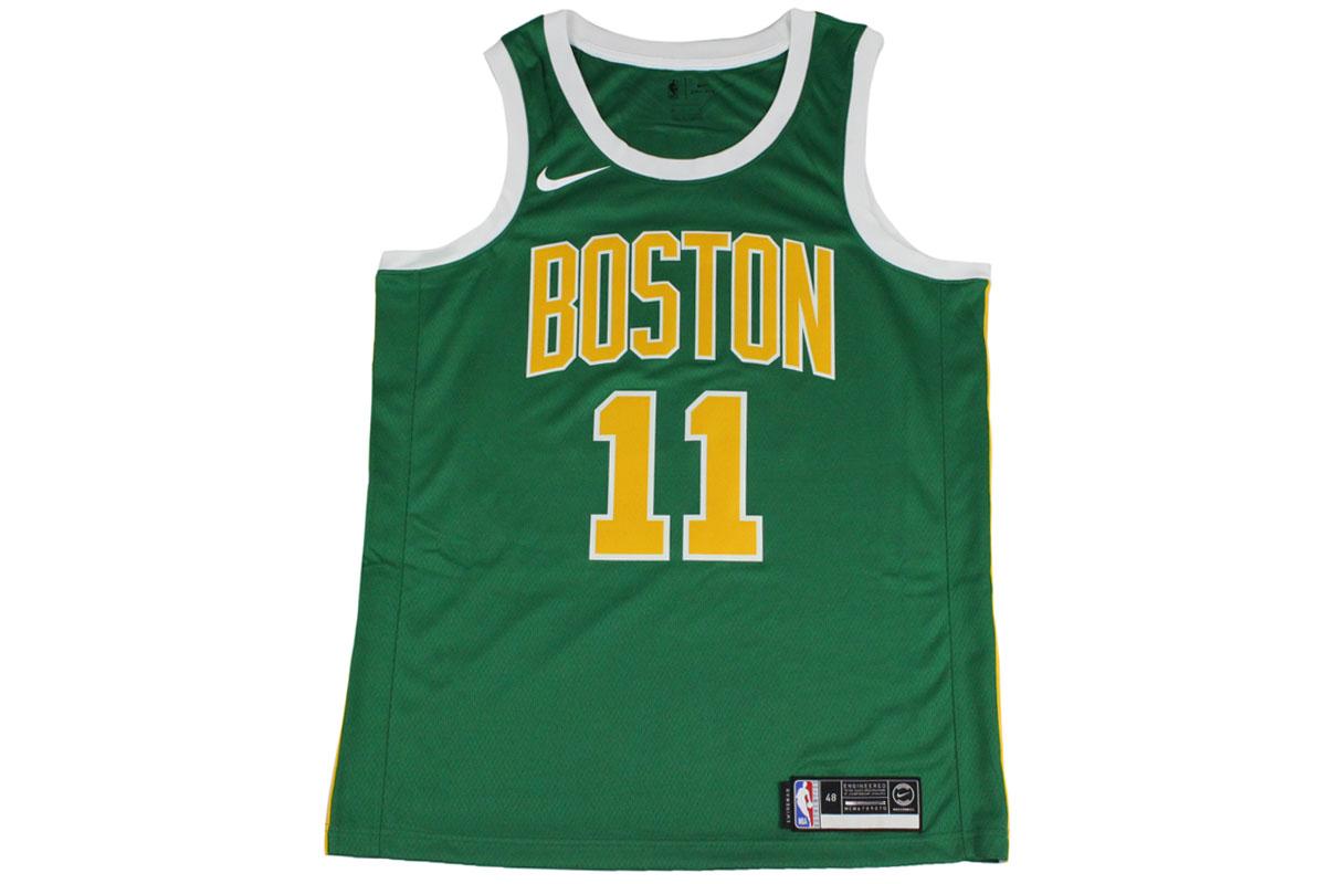 best loved 574af e3276 Nike NIKE NBA basketball uniform Boston Celtics chi Lee Irving #11 swing  man flip jersey