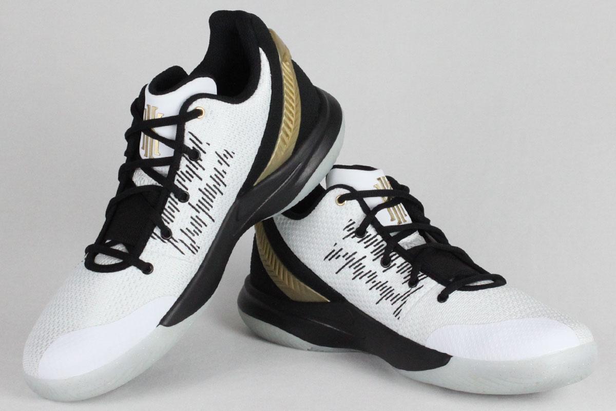 65eae45c78a NIKE KYRIE FLYTRAP II EP Nike chi leaf light lap 2 EP (white   metallic gold    black)