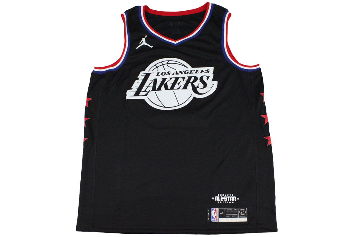 best service 369af c1162 Nike Jordan NIKE JORDAN NBA basketball uniform all-stars 2019 Los Angeles  Lakers Revlon James #23 swing man jersey