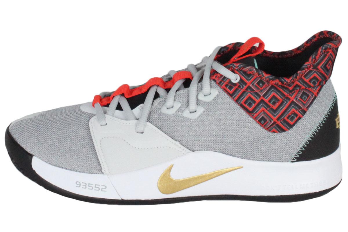 huge discount bb6ed 5c89b Nike NIKE basketball shoes NIKE PG3 BHM EP ナイキピージー 3 BHM EP (pure platinum  / metallic gold) 2019/2/1