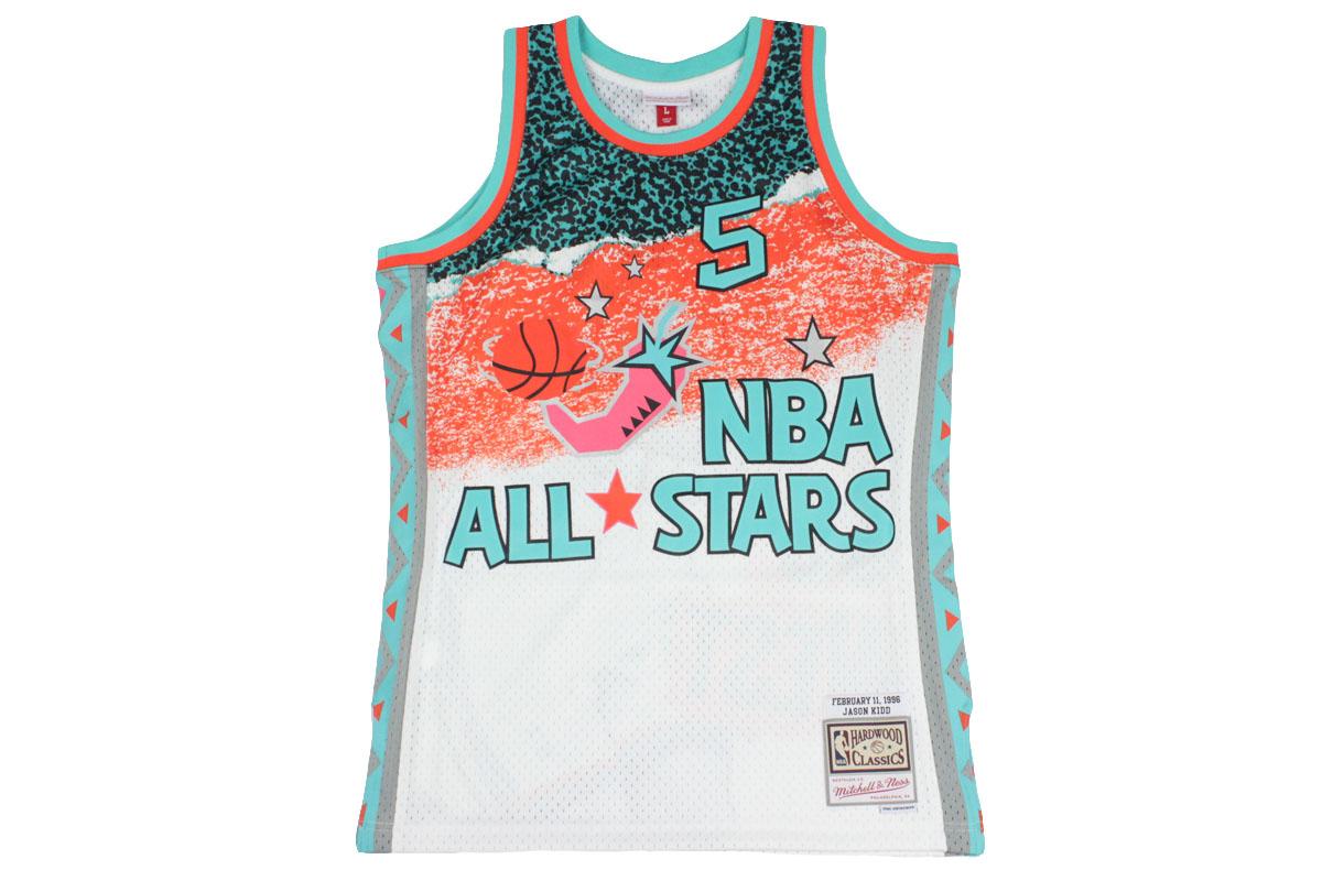 timeless design 2eb89 b450f Mitchel &ness Mitchell & Ness basketball uniform NBA all-star game 1996  swing man jersey WEST #5 Jason Kidd 20,520 yen → 10,260 yen
