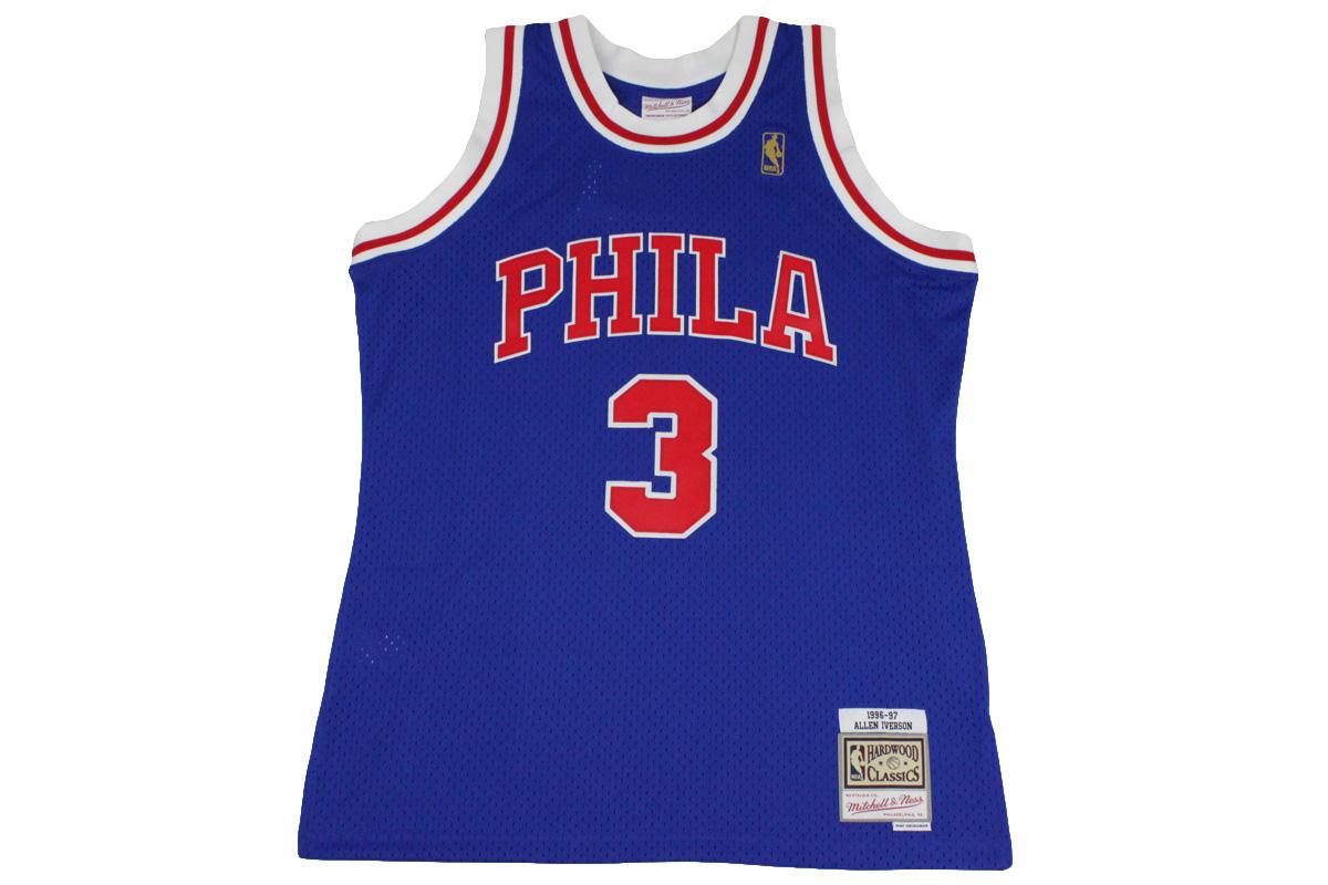 check out 7e0ad d4f7d Mitchel &ness Mitchell & Ness basketball uniform NBA swing man jersey  Philadelphia 76ers #3 Allen Iverson 17,280 yen → 8,640 yen