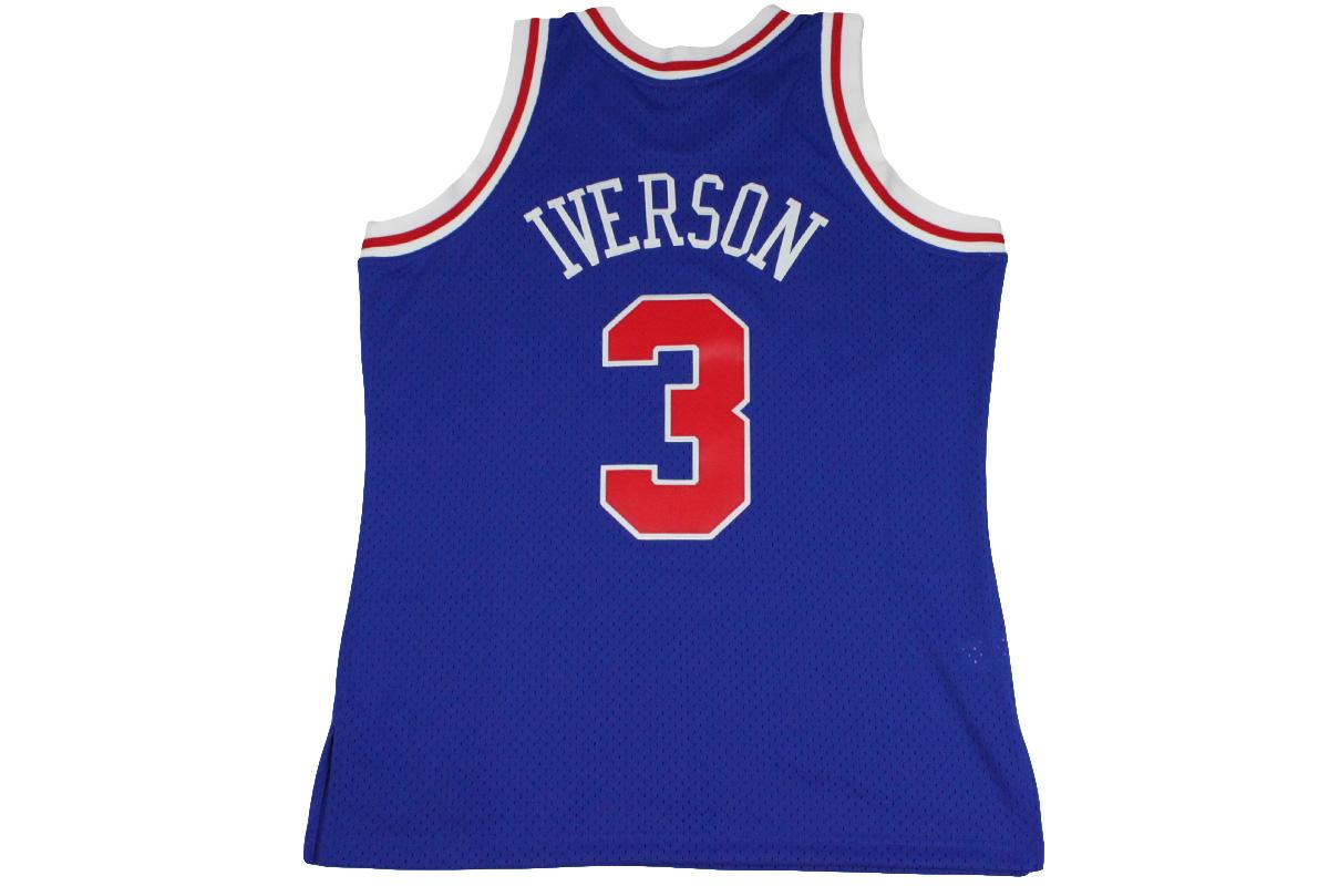 check out ee898 c15bc Mitchel &ness Mitchell & Ness basketball uniform NBA swing man jersey  Philadelphia 76ers #3 Allen Iverson 17,280 yen → 8,640 yen