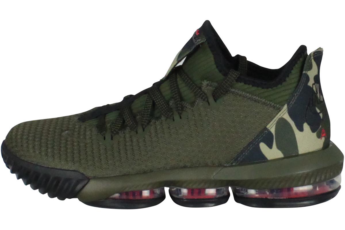 713c021779b5 NIKE LEBRON XVI LOW Nike Revlon 16 low (cargo khaki   black   neutral  olive) 2019 4 10