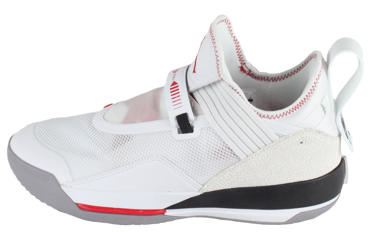 Nike Jordan NIKE JORDAN basketball shoes NIKE AIR JORDAN XXXIII SE PF Nike Air Jordan 33 SE PF (white metallic gold gym red black)