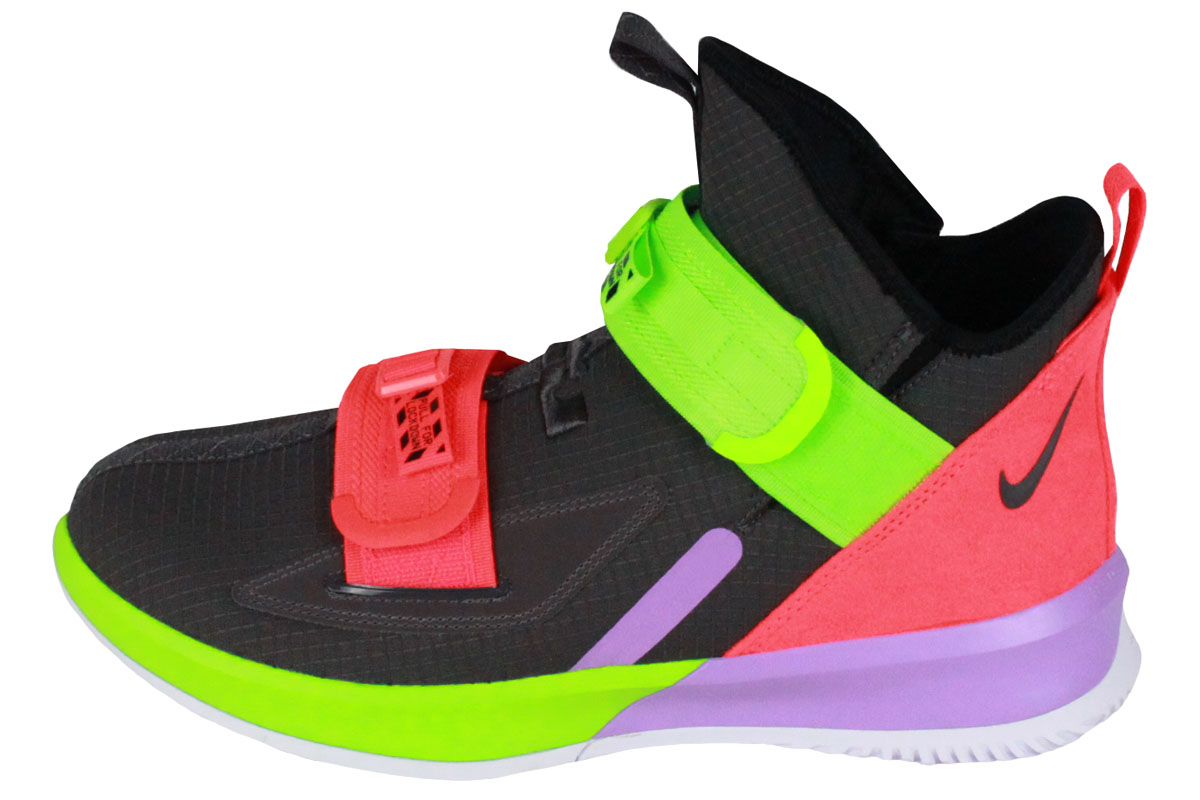 brand new 5d6aa 5e760 Nike NIKE basketball shoes LEBRON SOLDIER XIII SFG EP Revlon soldier 13 SFG  EP (THUNDER GREY/THUNDER GREY-BRIGHT CRIMSON-ELECTRIC GREEN)