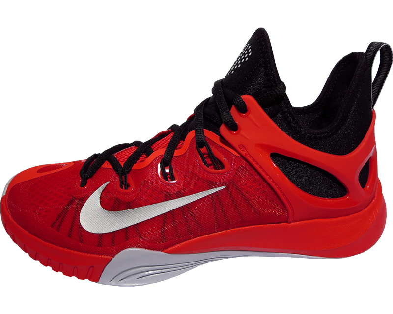 [705371-600] NIKE ZOOM HYPER REV 2015 EP Nike zoom hyperlaw 2015 EP (University  red x Wolf gray × black) for basketball shoes * manufacturers ordered.