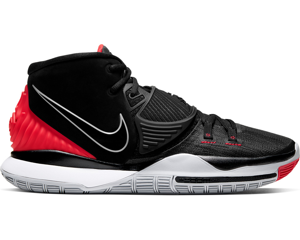 (★) ■* Nike NIKE basketball shoes chi Lee 6 EP KYRIE 6 EP (black black university red) 202011 17,050 yen → 10,230 yen
