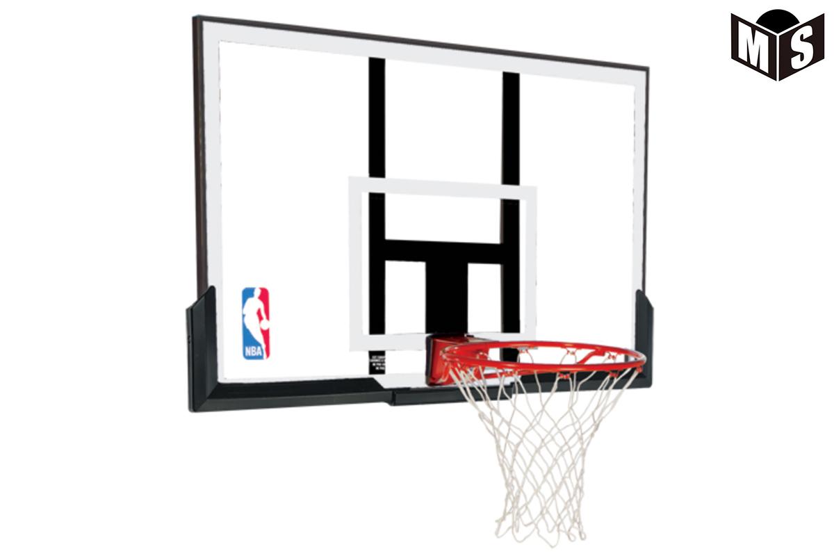 【5月下旬入荷予定】スポルディング SPALDINGバスケットゴールバックボード+リング+ゴールネットNBAアクリルコンボ【79836CN】