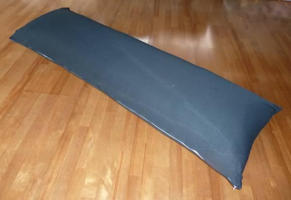 日本製 150x50cm ロングクッション 黒無地カバー付き 抱き枕 中身付き 妊婦 マタニティ 好評受付中 授乳 中綿4kg いびき防止 新色 抱き枕中身