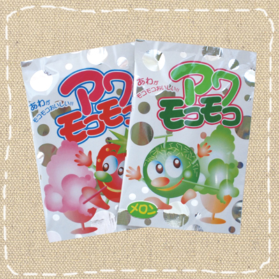 水を入れると泡がモコモコ… 【特価】アワモコモコ 30入り 共親製菓【駄菓子】
