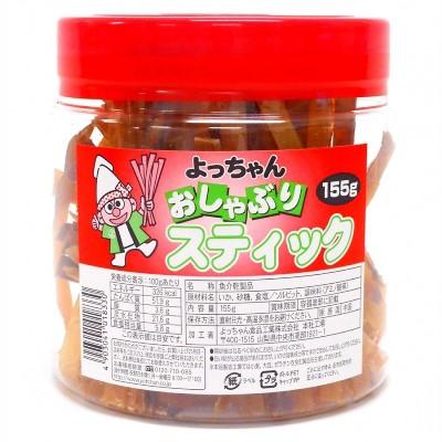 よっちゃん おしゃぶりスティック いか 155g×16ポット 駄菓子 特価【代引き不可商品】