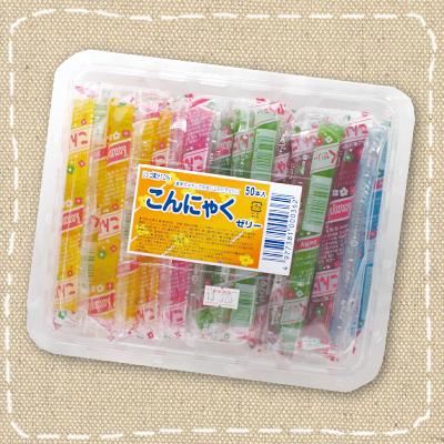 駄菓子屋さんのスティックゼリー 特価 爆安 こんにゃくゼリー 坂製菓 本物 駄菓子 50本入り1パック