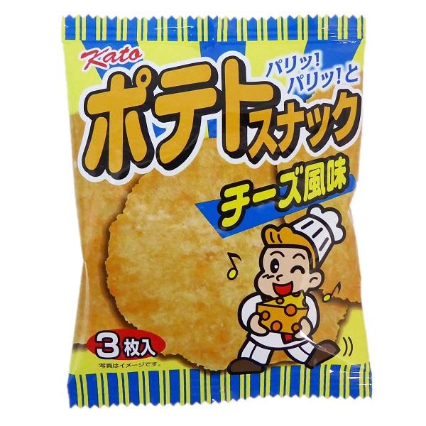 パリパリっとした食感 半額 ポテトスナック チーズ風味 20袋入12BOX 東豊製菓 ポテトフライ類似品 絶品 かとう製菓