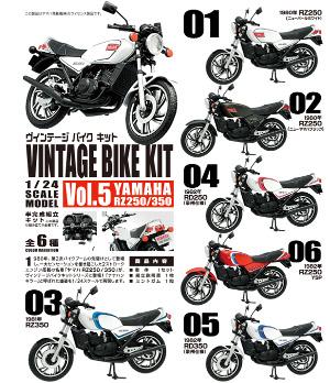 1/24 ヴィンテージ バイク キット(VINTAGE BIKE KIT)Vol.5 エフトイズ 10個入り8BOX