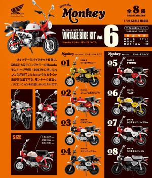1/24 ヴィンテージ バイク キット(VINTAGE BIKE KIT)Vol.6 エフトイズ 10個入り8BOX