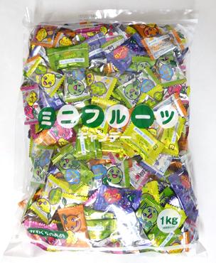 卸価格 川口製菓 公式通販 ミニフルーツキャンディー 1キロ入り 卸特売 業務用 大特価!! 徳用袋 約303個前後入