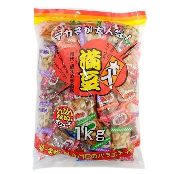 【業務用】大入満豆 豆菓子アソート 1kg×48袋 48キロ バー・クラブ・端玉・催事・イベントに ★代引き不可