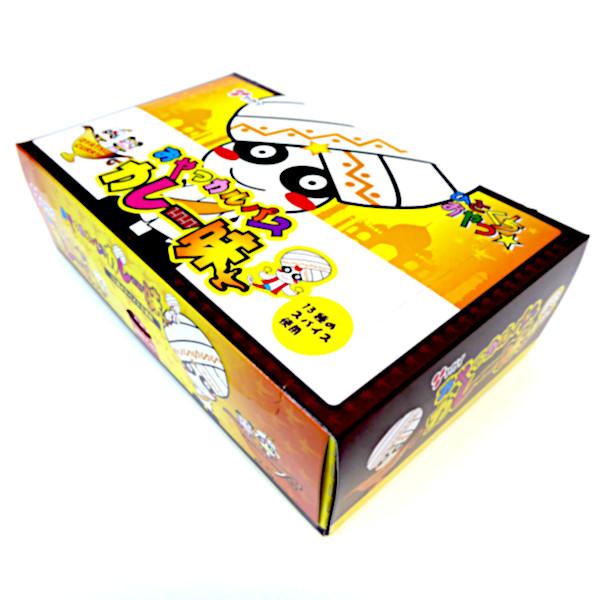 【卸価格】おやつカルパス カレー味(合成着色料不使用)50個入り×40BOX 大量2000個 ヤガイ 代引き不可商品