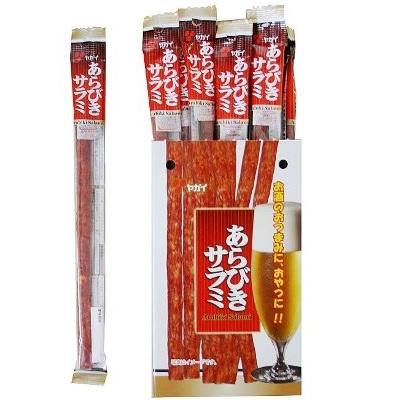 【特価】あらびきサラミ 400g(20g×20本)×12BOX【ヤガイ】
