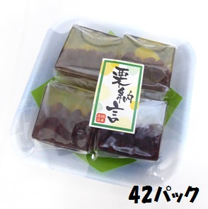 【特価】銘菓逸品 栗納言 長豊堂 4個入り×42パック 和菓子