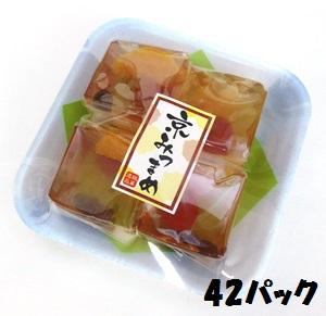 【特価】銘菓逸品 京みつまめ 長豊堂 4個入り×42パック 和菓子