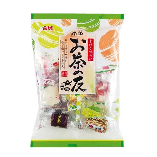 【特価】金城製菓 お茶の友 140g×200袋【卸価格】