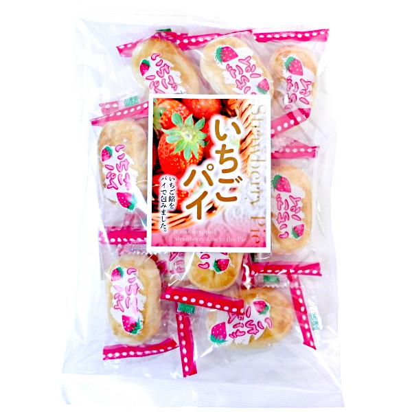 【丸三玉木屋】 いちごパイ 190g×120袋 餅菓子 半生菓子 ☆期間限定品☆代引き不可
