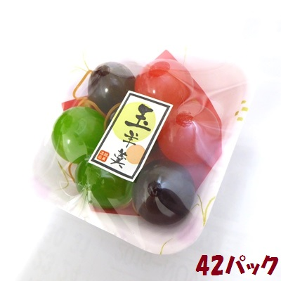 【特価】懐かしの駄菓子 玉羊かん 7個×42パック 和菓子
