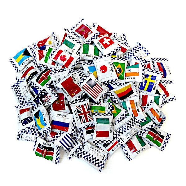 お徳用 40キロ 世界の国旗 キャンディ 1kg×40袋 キッコー製菓 イベント・催事