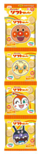 化学調味料 着色料 香料 不使用 4P アンパンマンのソフトせん 期間限定 栗山米菓 格安店 Befco 52g 13g×4袋 ×24袋 ベフコ