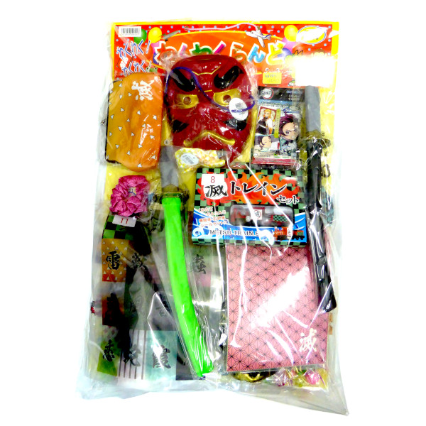 お祭り・催事・イベントに! 【特価】鬼滅の刃&玩具当てくじ (50×80付)イベント・催事・お祭り・家族、友達と