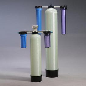 カートリッジ純水器 フィルター+水質計セットタイプ 樹脂量:200L CPK-200