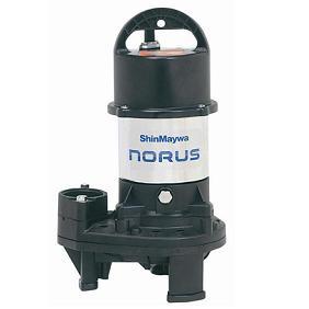 新明和工業 樹脂 CR型ポンプ CR501DS-F50-5.15 フランジ接続形 自動排水スイッチ付 0.15Kw 50Hz