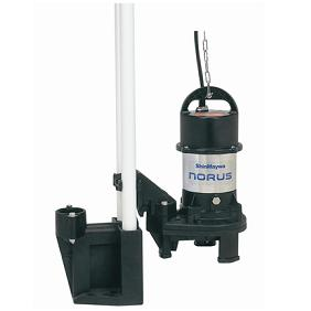新明和工業 樹脂 CRS型ポンプ CRS501DS-P50RL-6.4 自動接続形 自動排水スイッチ付 0.4Kw 60Hz