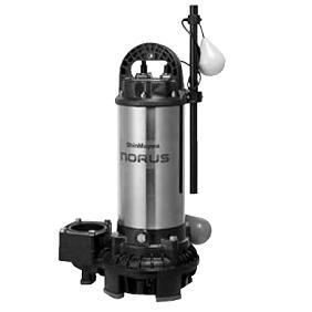 新明和工業 樹脂(高揚程) CRC型ポンプ CRC65W-F80NR-52.2 自動接続形 自動交互運転 2.2Kw 50Hz   水中ポンプ 汚水槽 排水槽 井戸 排水 池 浄化槽 揚水 汲み上げ 水 残水 雑排水 井戸水 水中 送水ポンプ 雨水 単独浄化槽 合併浄化槽 グリストラップ 雑用水 地下水 新明和
