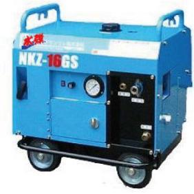 クランツレ エンジン式防音型冷水高水圧洗浄機 NKZ-16GS