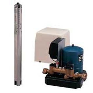 グルンドフォスポンプ 深井戸用水中ポンプ定圧制御ユニット SQEP3-55