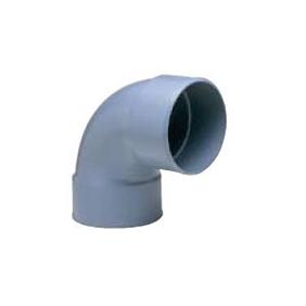旭有機材工業 大口径継手 90°ベンド U-PVC 200A AV90DB-U200