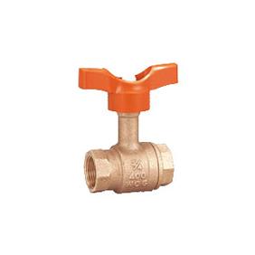 キッツ 青銅・黄銅バルブ Tボール TLT型 1.5インチ(40A) TLT-1.5