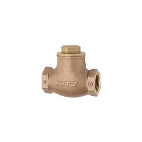 キッツ 青銅・黄銅バルブ スイングチャッキ O型 JIS規格品 1.5インチ(40A) O-1.5